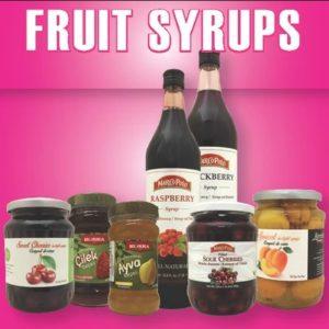 Fruit & Fruit Syrups