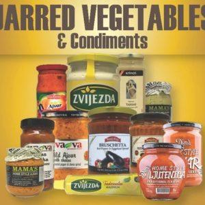 Jarred Vegetables & Condiments
